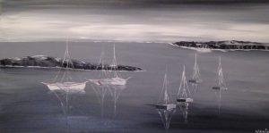 tableau bateaux