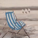 chaise longue sur une plage