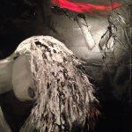 femme allongée peinture à l'huile