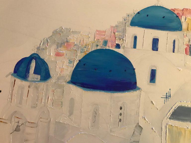 petites maisons de santorin