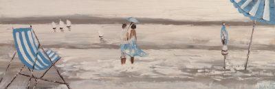 Promenade amoureuse en bord de mer